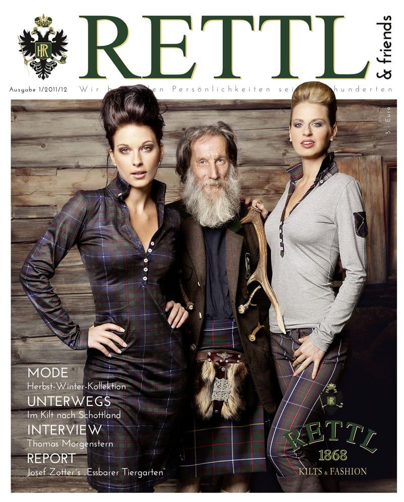 Rettl & friends Titelseite Ausgabe 1
