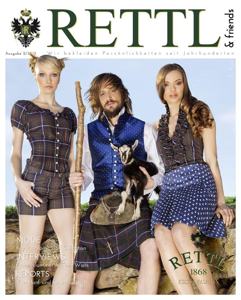 Rettl & friends Titelseite Ausgabe 2