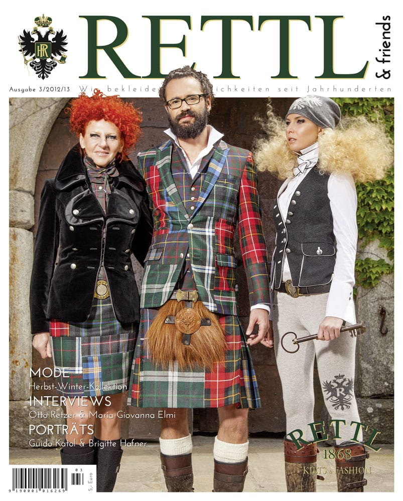 Rettl & friends Titelseite Ausgabe 3