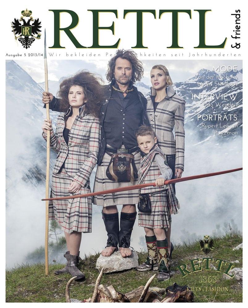 Rettl & friends Titelseite Ausgabe 5