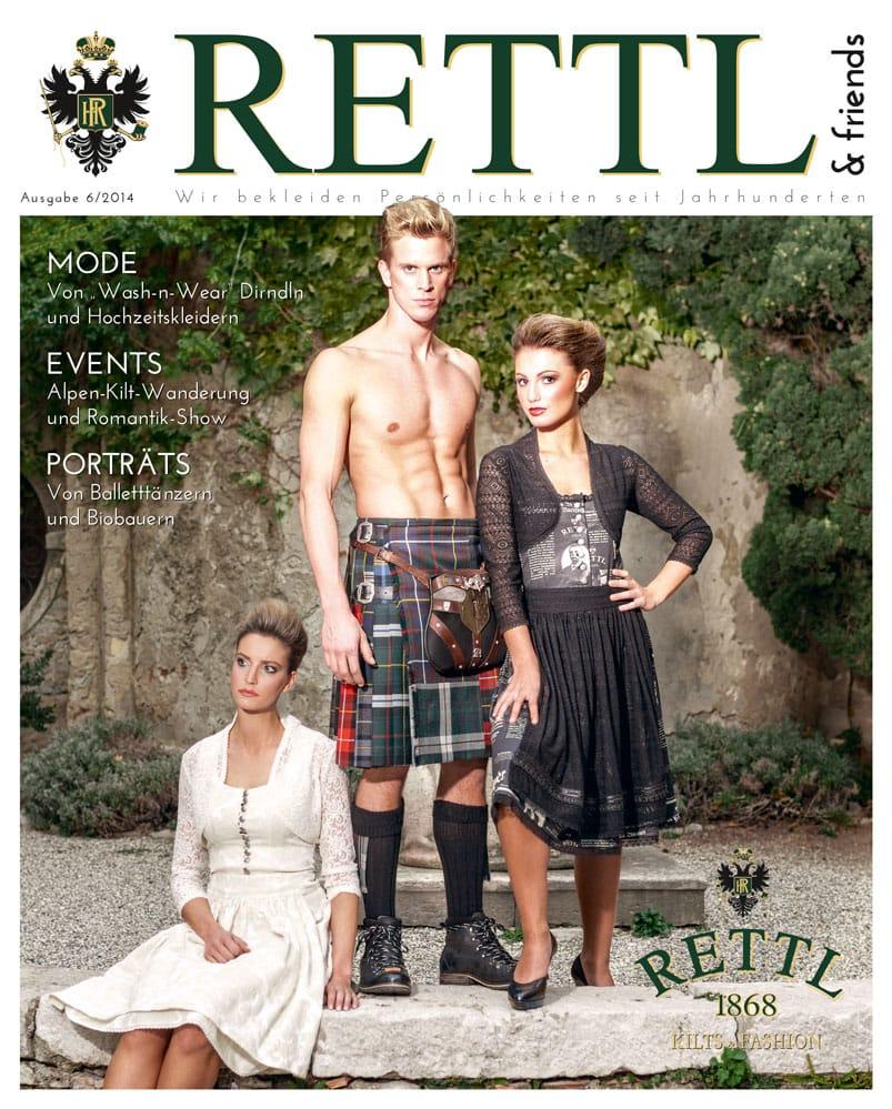 Rettl & friends Titelseite Ausgabe 6