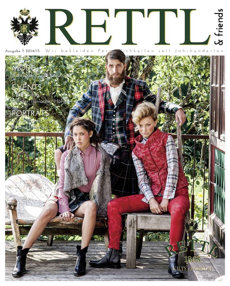 Rettl & friends Titelseite Ausgabe 7