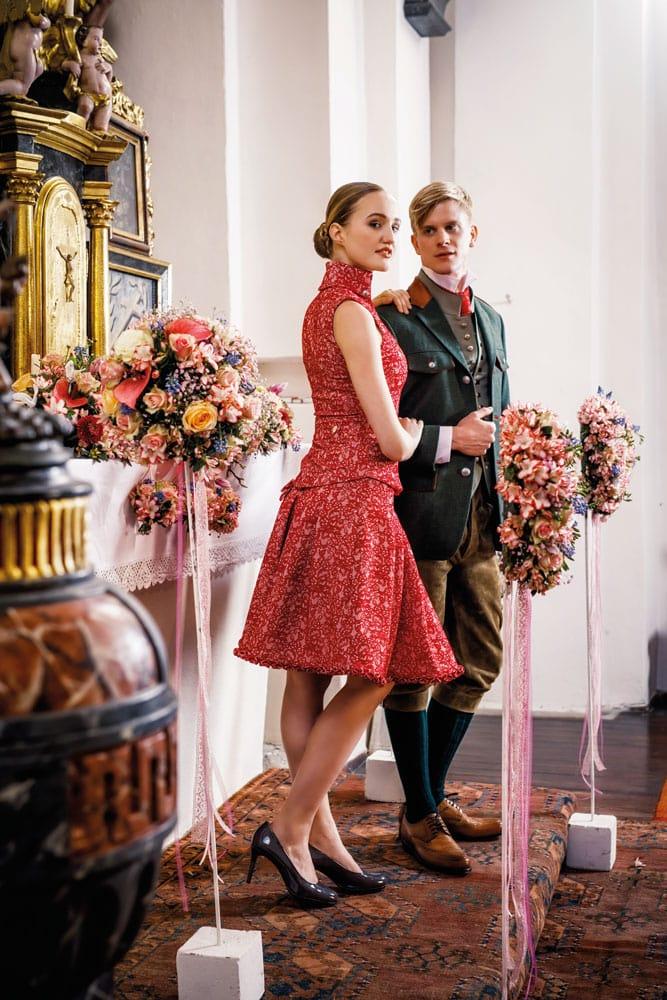 Hochzeit in Brokat und Seide 3