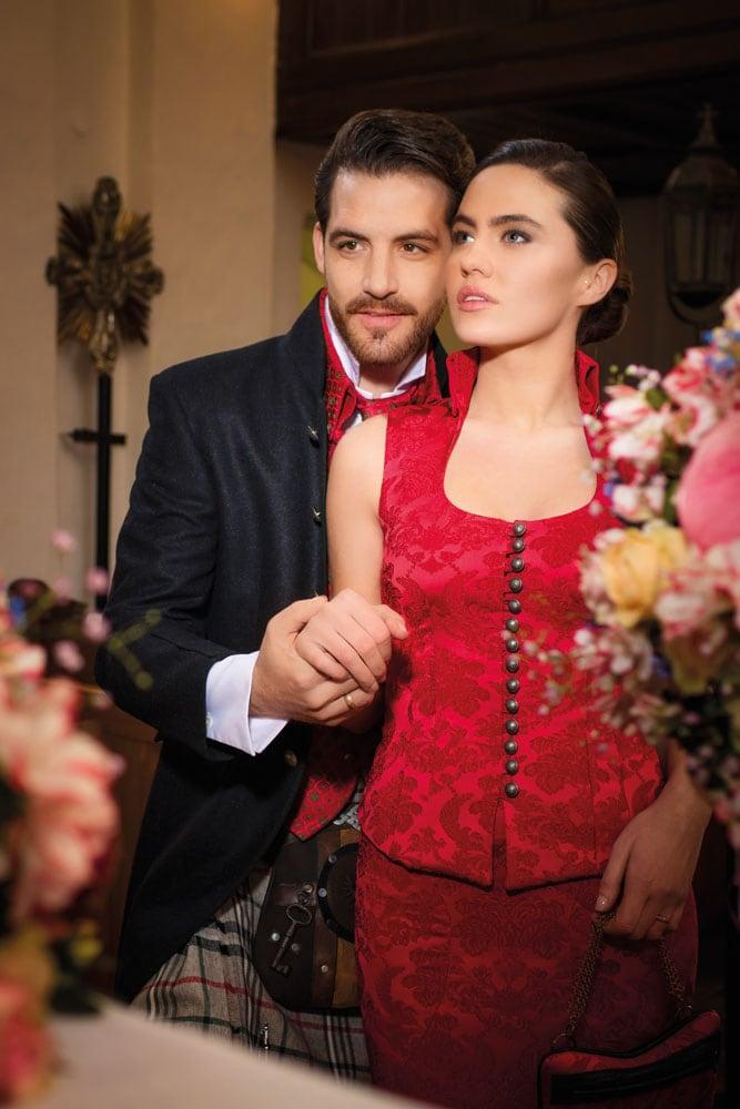 Hochzeit in Brokat und Seide 5