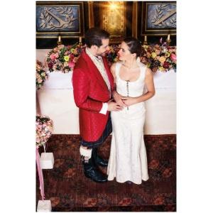 Hochzeit in Brokat und Seide 4
