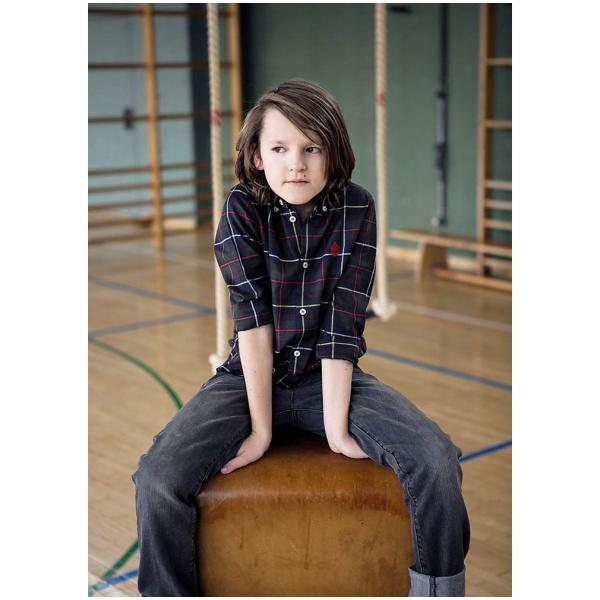 "Hemd ""Cameron"" in Kärnten Karo Baumwolle Kids Boy"