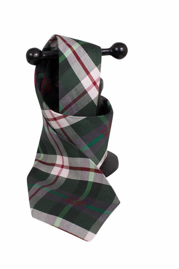 Halsreamvlg. Krawatte in Steirer Karo Seide