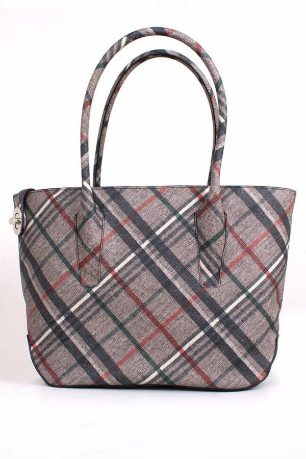 Tasche My Best City Bag Leinen Rettl Housecheck