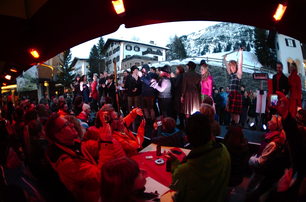 Rettl Modenschau Hotel Krone Lech am Arlberg