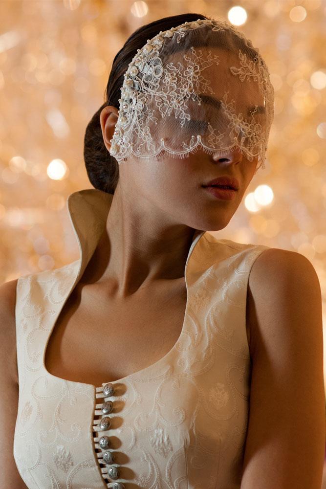 Rettl Hochzeit weißer Schleier