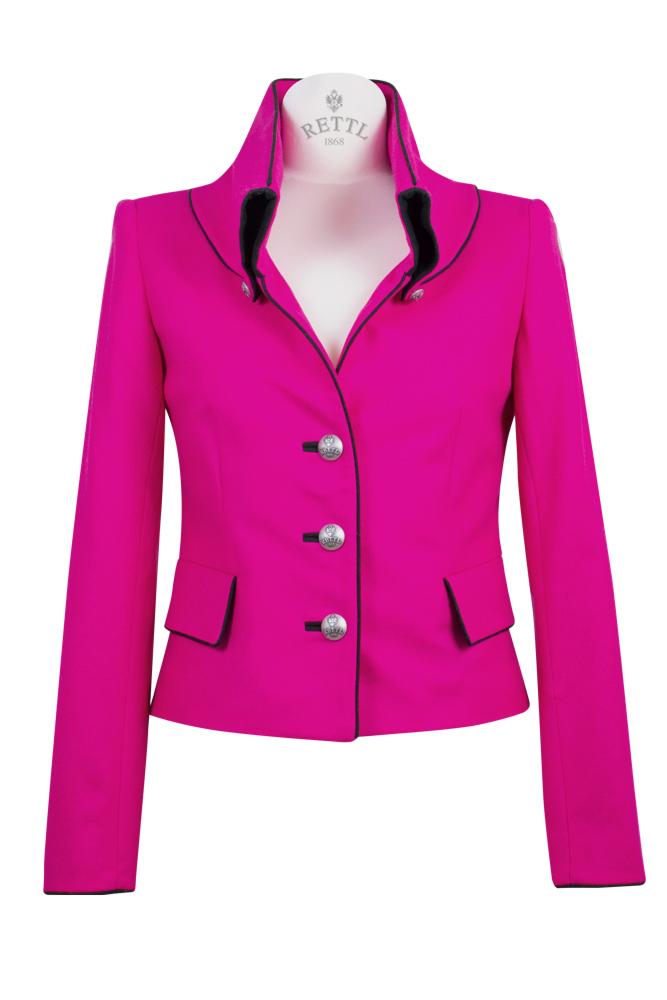 Rettl 1868 Damen Jacke Sterling pink Loden