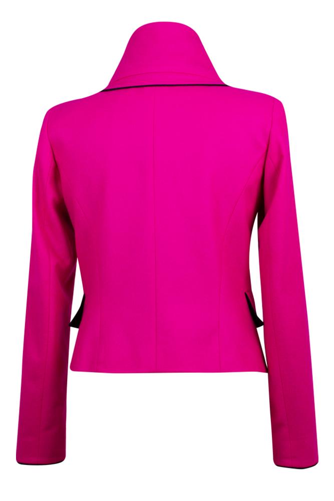 Rettl 1868 Damen Jacke Sterling pink Loden back