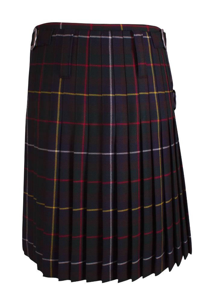 Rettl 1868 Herren Kilt Glasgow Kärnten Karo mit Leder hinten