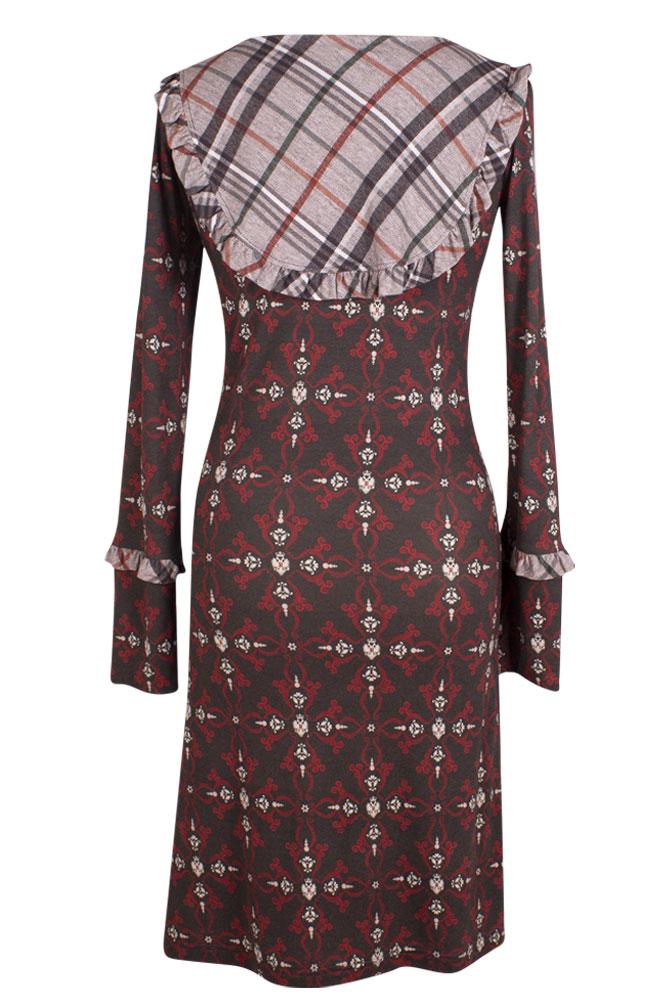Rettl Damen Kleid Granada triscele hinten