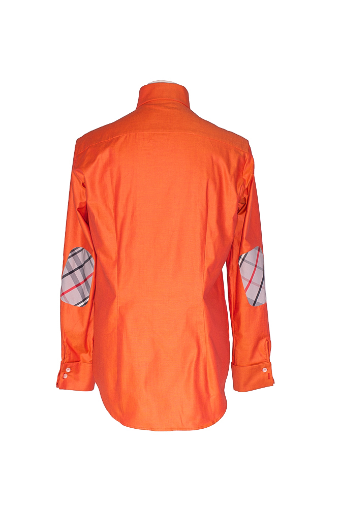 Rettl Herren-Hemd-BW-Oliver1-OrangeHouse-Check-hinten