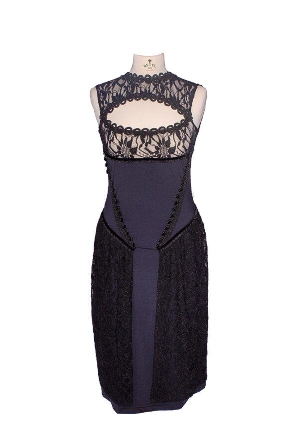 rettl-Damen-Kleid-Trude-vorne-schwarz
