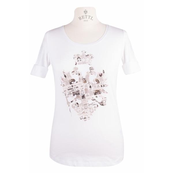 Damen Art-Shirt Print History