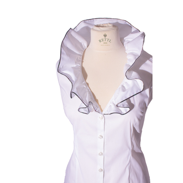 Rettl-Damen-Bluse-Laetiza-kurzarm-weiss closeup