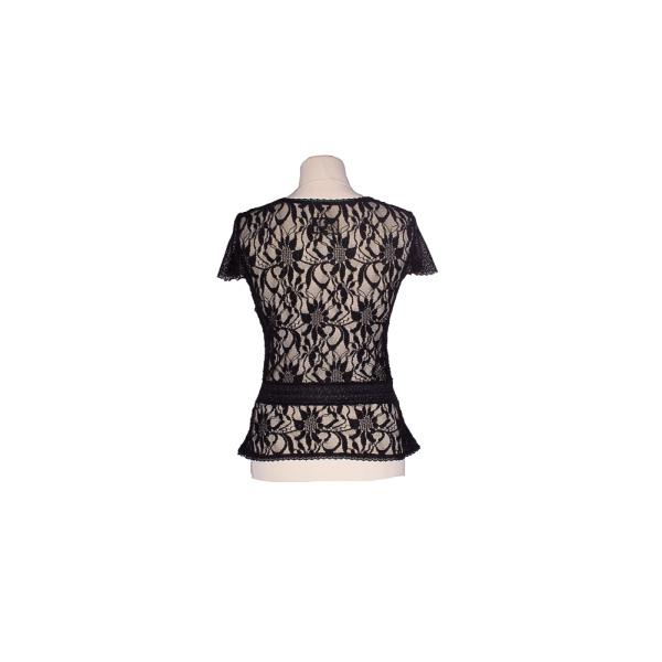 Rettl-Damen-Shirt-Kilian-Stretchspitze-schwarz-hinten