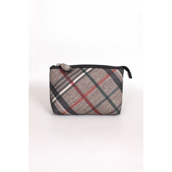 Rettl Tascherl Tiny Bag Housecheck closeup